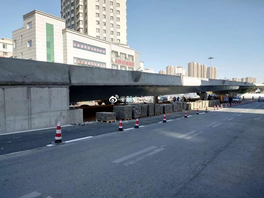 好消息!长惠桥将于10月31日交付使用