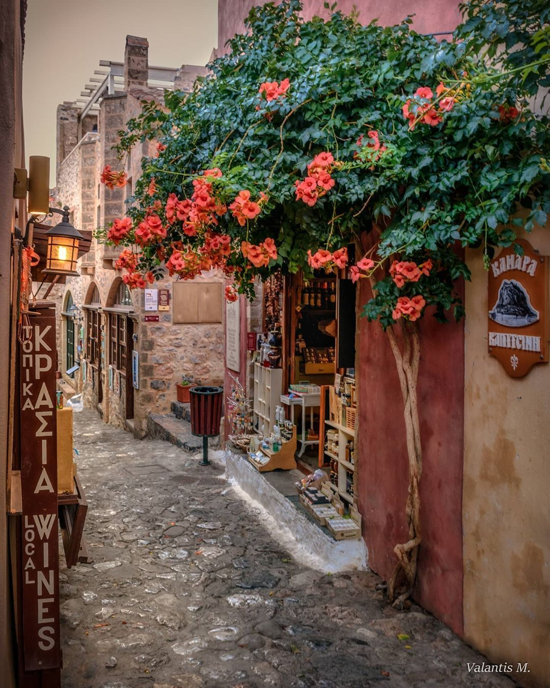 莫奈姆瓦夏的傍晚,希腊拉科尼亚州最美的存在。