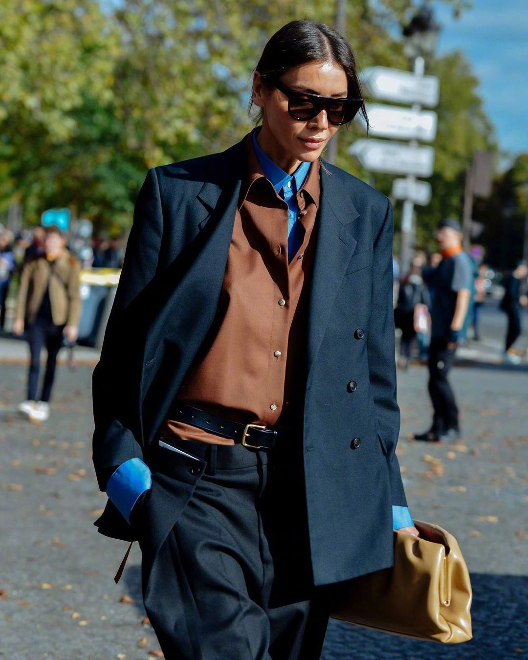 街拍摄影大师Tommy Ton 镜头下的街头时髦客。