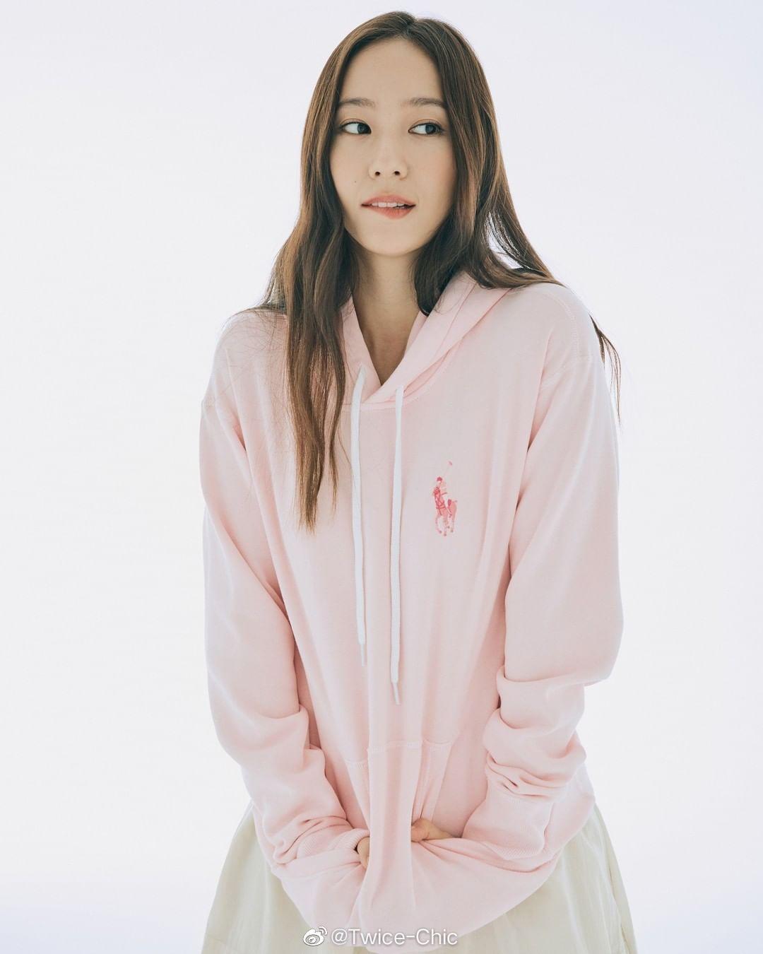 郑秀晶 for Ralph Lauren Pink Pony 🍥