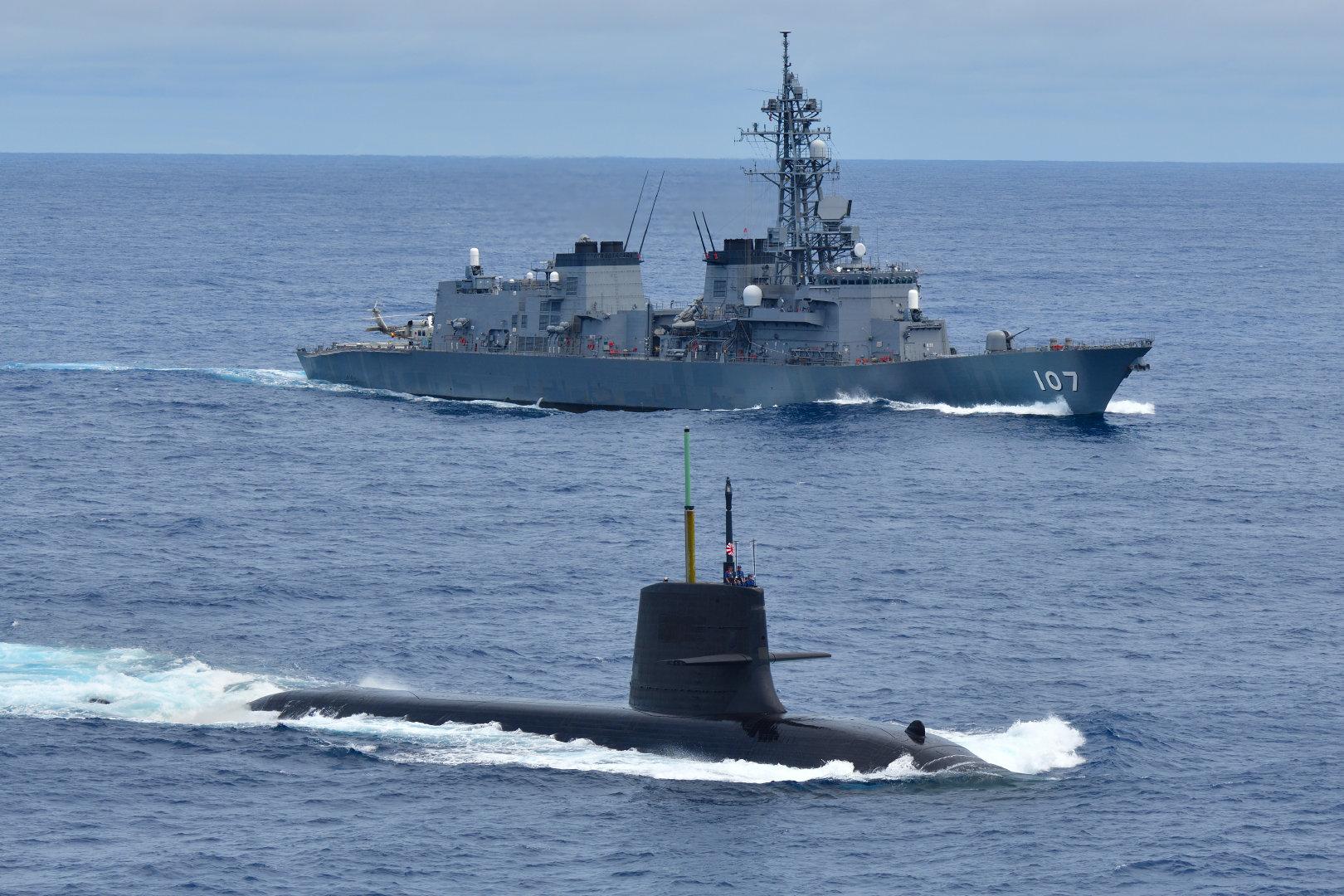 日本海上自卫队11月图集