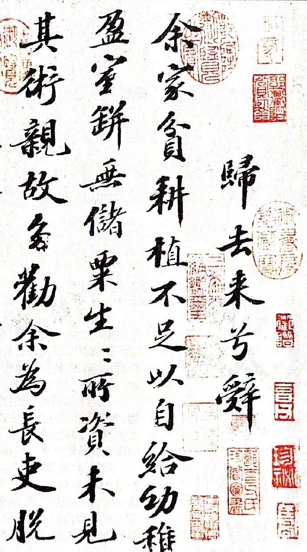 《归去来兮》 --- 苏轼 · 书法