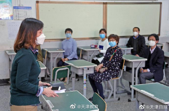 我市各复课学校严格积极展开疫情防控实操演练