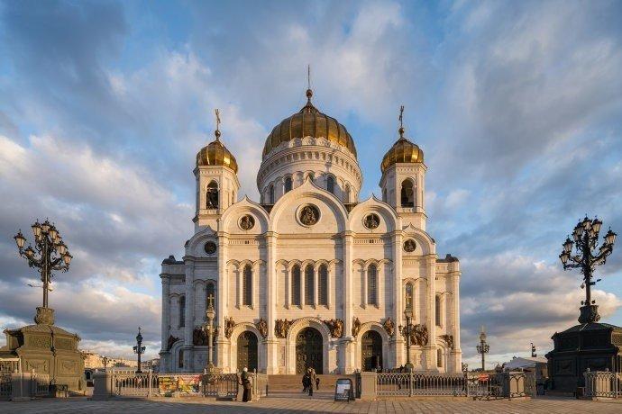莫斯科,宏伟壮观、气势磅礴的建筑。