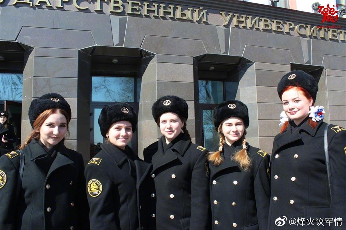 俄罗斯海军女兵