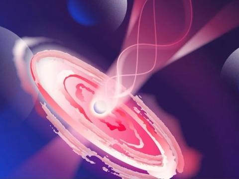 黑洞类星体等离子喷流, 是直直地喷出吗?不,是喇叭裤状喷出!