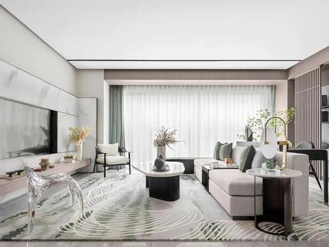 MOD穆德设计丨恒邦·仁寿中心城样板房:极简艺术,铺叙当代风尚