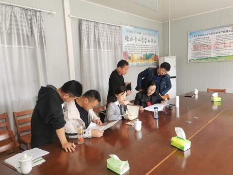 石台县生态环境分局联合石台县税务局开展环保税核查工作