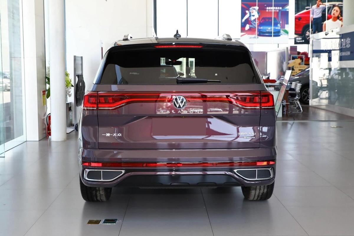 家有三胎如何选车?大众全新大尺寸SUV即将上市,真的可以再等等