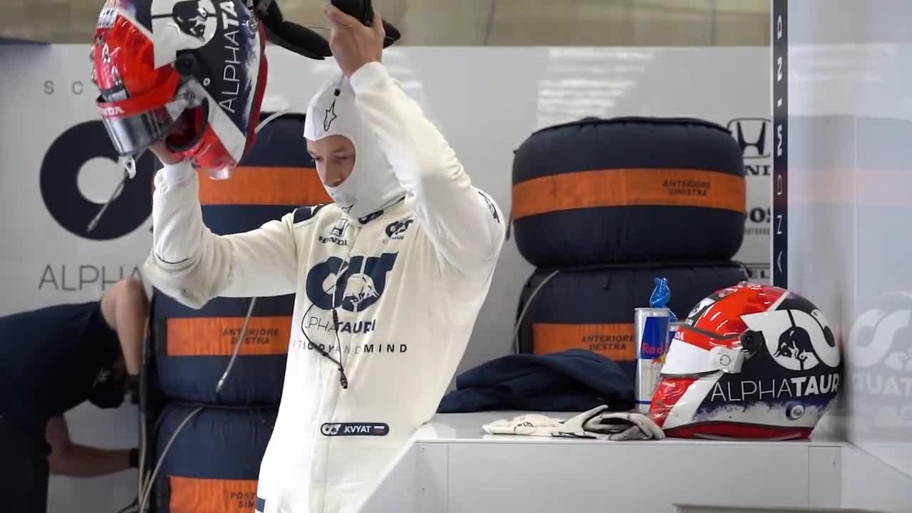 俄罗斯车手丹尼尔-科维亚特的斯帕、蒙扎、穆杰罗比赛总结……