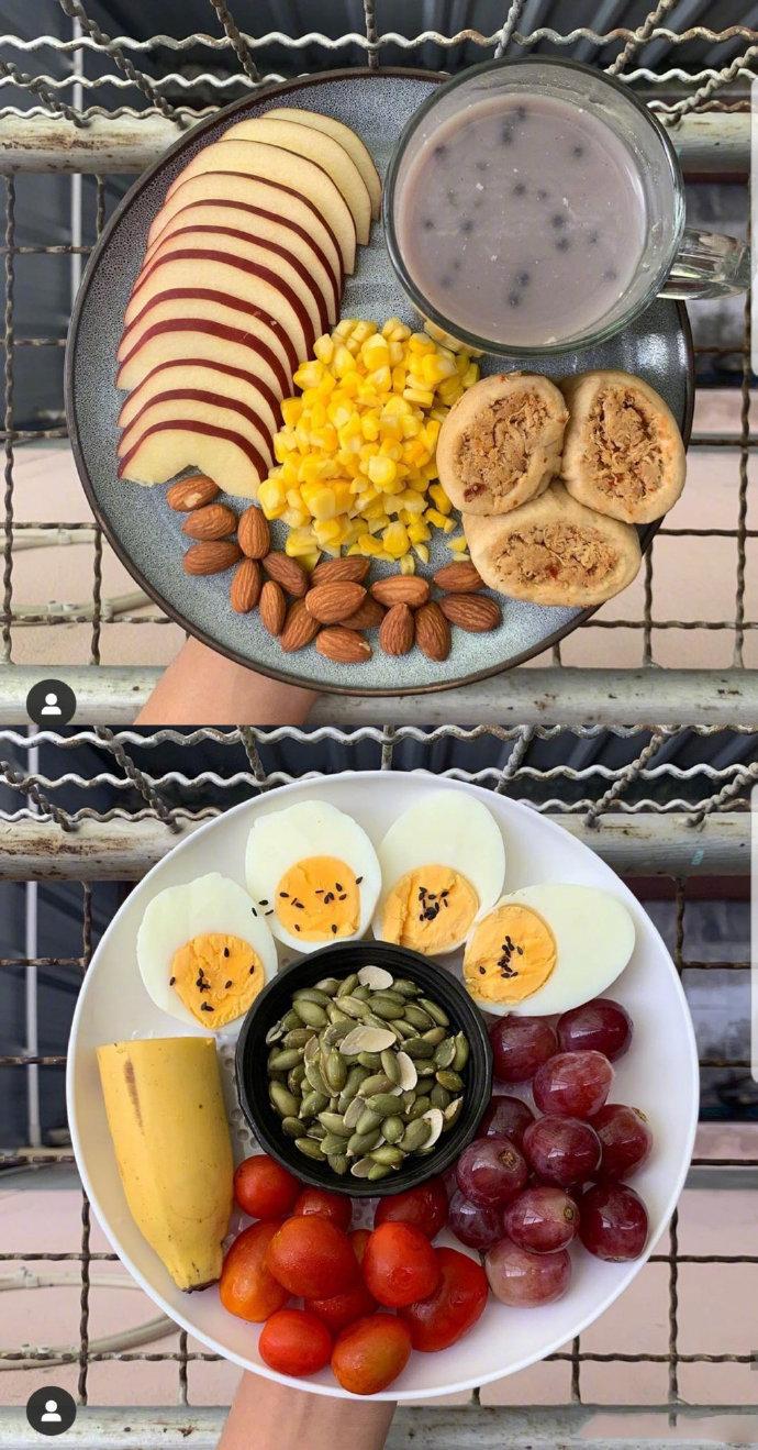 分享一位减重42斤的女生的减肥餐搭配食谱  (ˇˍˇ) 想~
