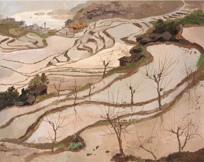 吴冠中 · 油画欣赏 … 很中国