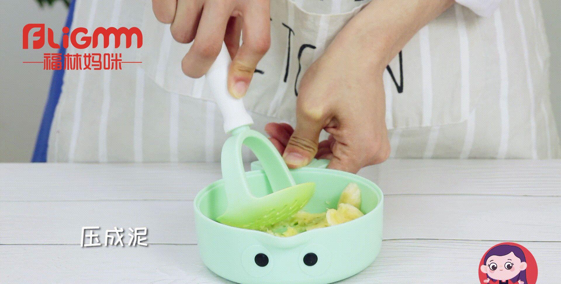 宝宝肚子胀、消化不好?试试香蕉南瓜糊,调理肠胃健康特别棒