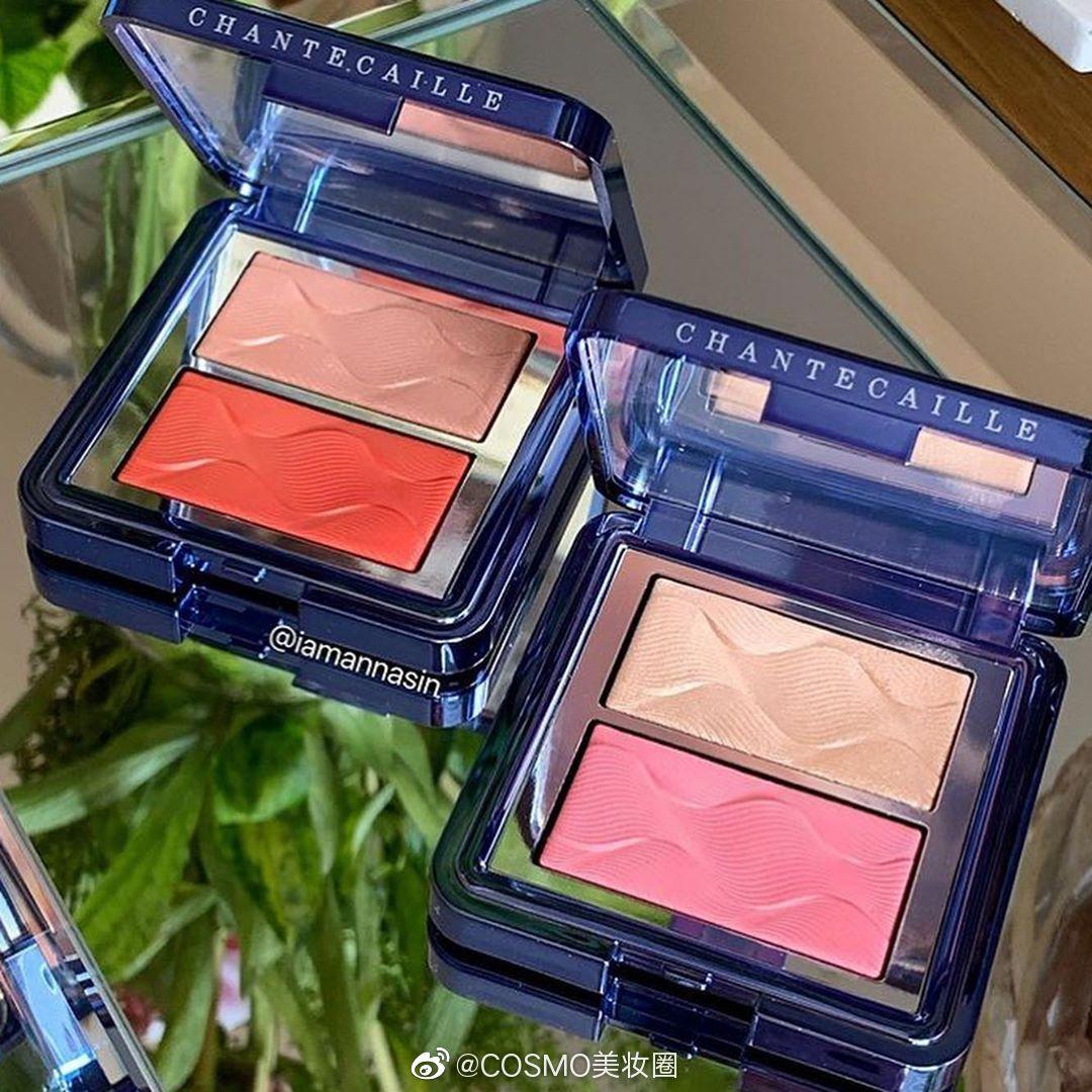 CHANTECAILLE 香缇卡 2020夏季限定系列脸颊盘的试色~实物真的更美了