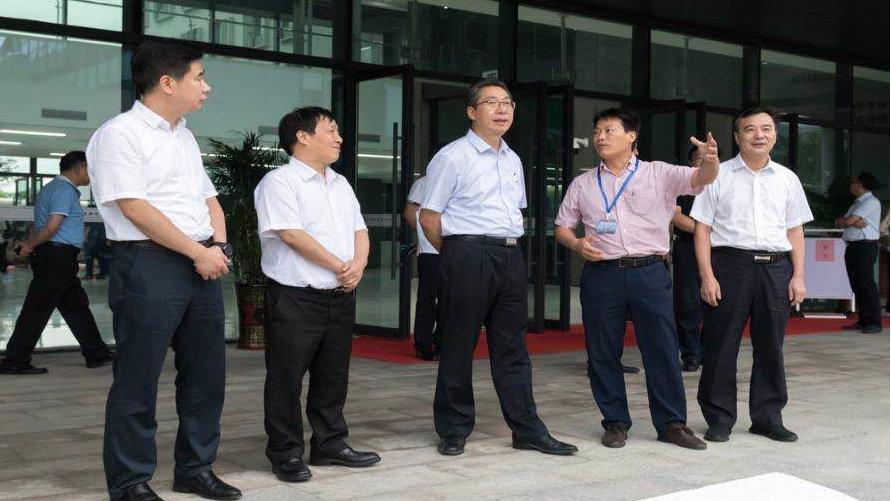 国家知识产权局局长申长雨到江西调研并座谈