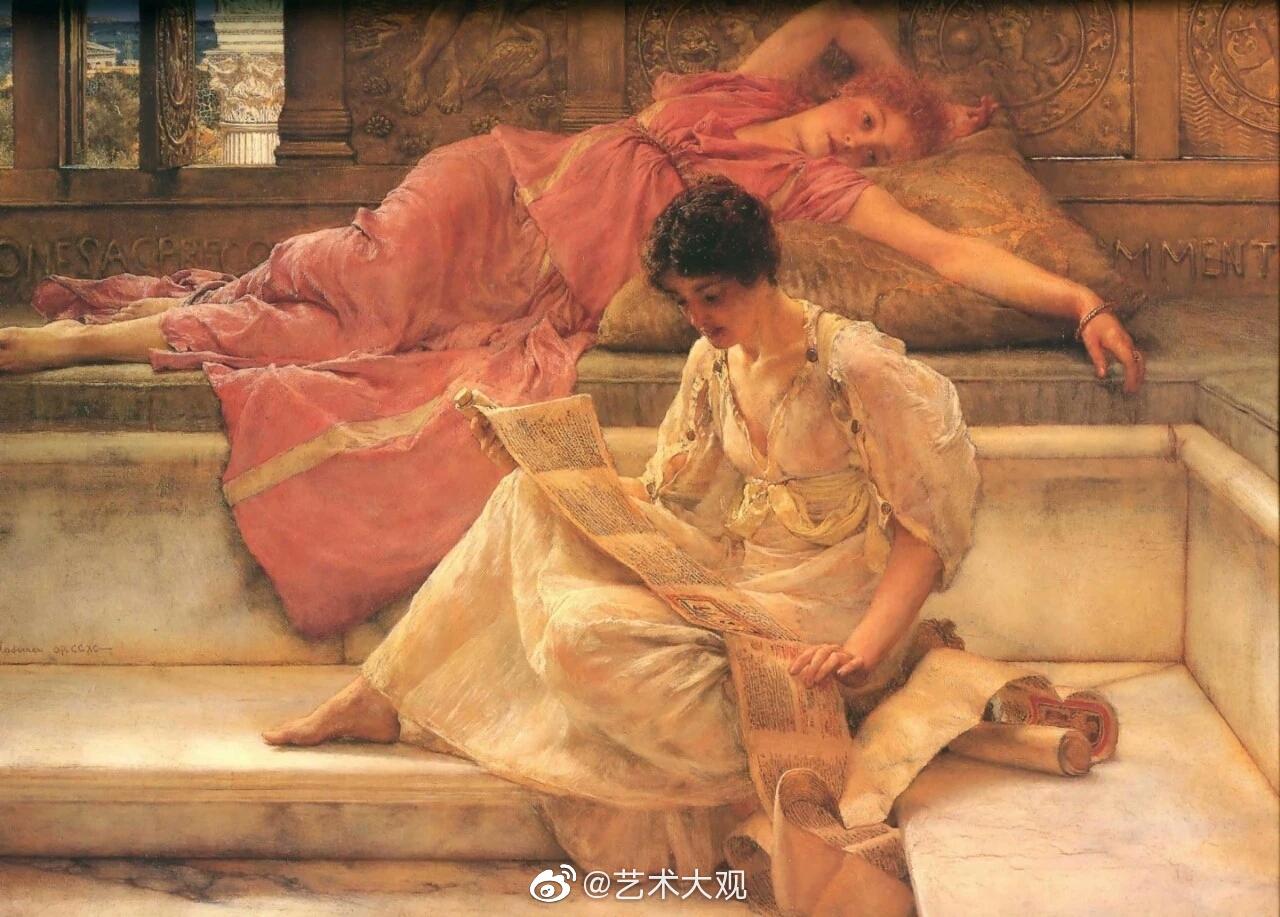 劳伦斯·阿尔马·塔德玛出生于荷兰,1879年成为皇家美术学院院士