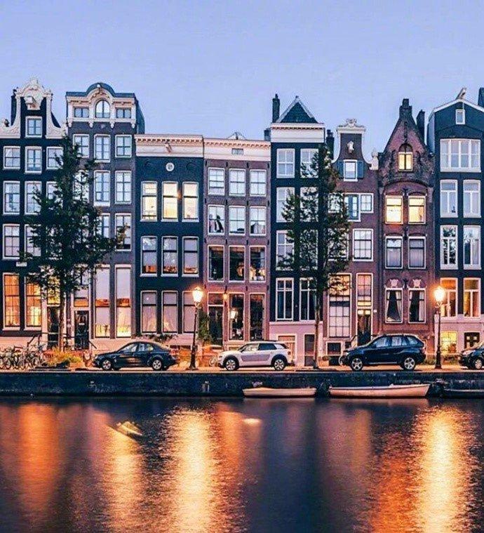 充满浪漫气息的水城阿姆斯特丹~