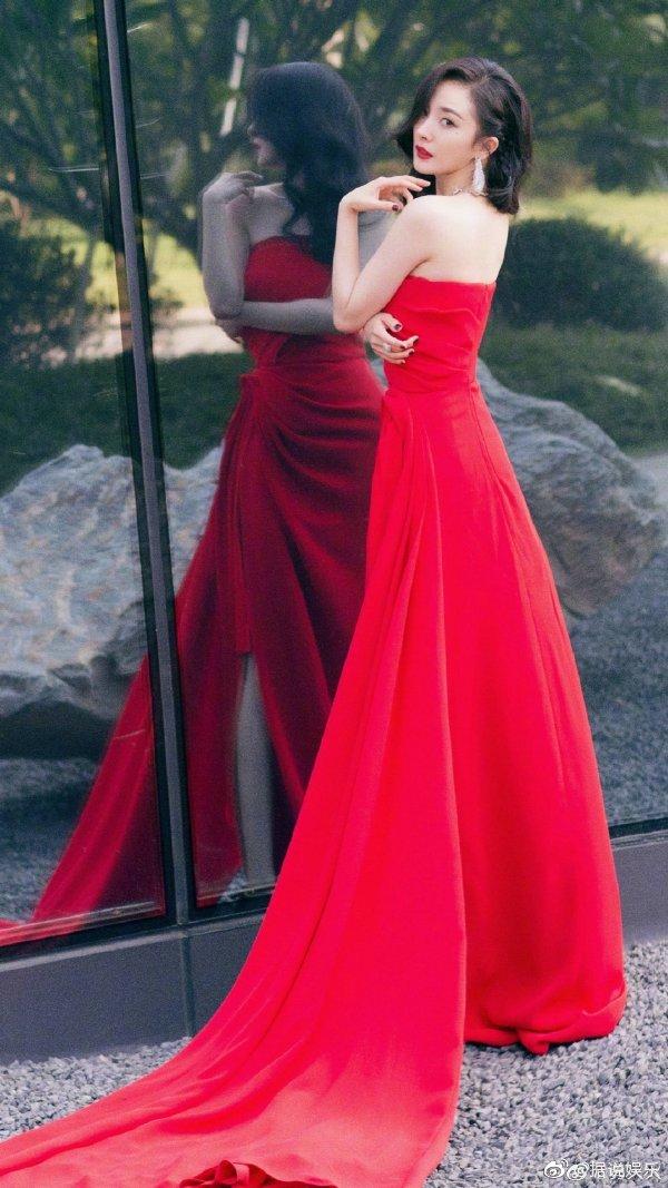 女星红裙礼服大赏