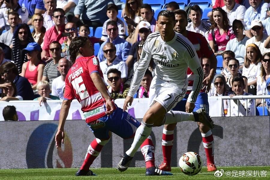 2015年4月5日,西甲第29轮上演一场焦点战,皇马主场对阵格拉纳达