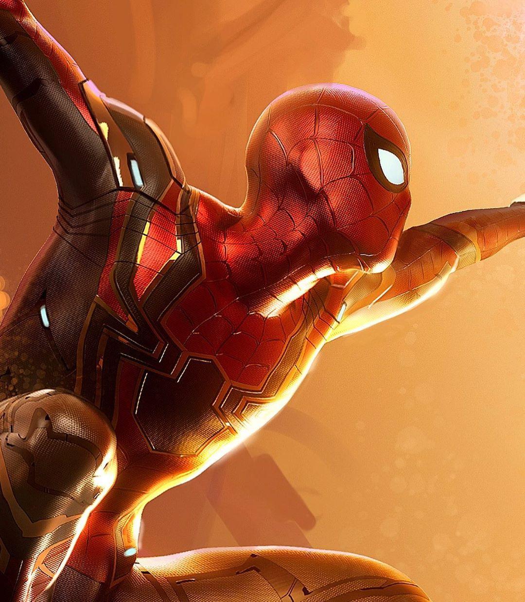 最新艺术概念图:钢铁蜘蛛侠