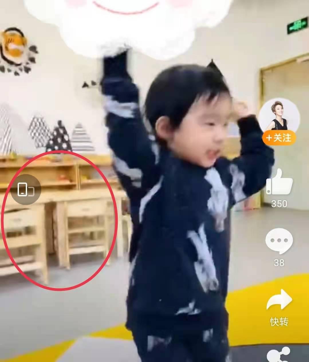 谢楠晒3岁儿子视频,大跳吴京最讨厌的男团舞,被嘲颜值不如亲哥