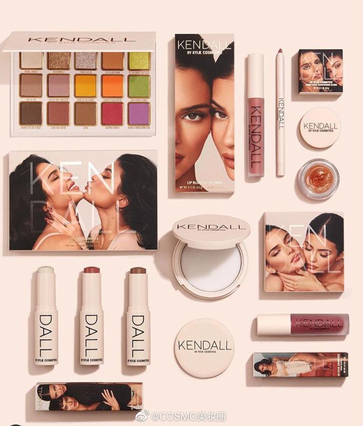 Kendall by Kylie Cosmetics终于登场啦