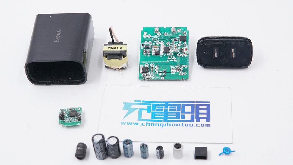 拆解报告:Baseus倍思18W USB PD快充充电器TC-012PD