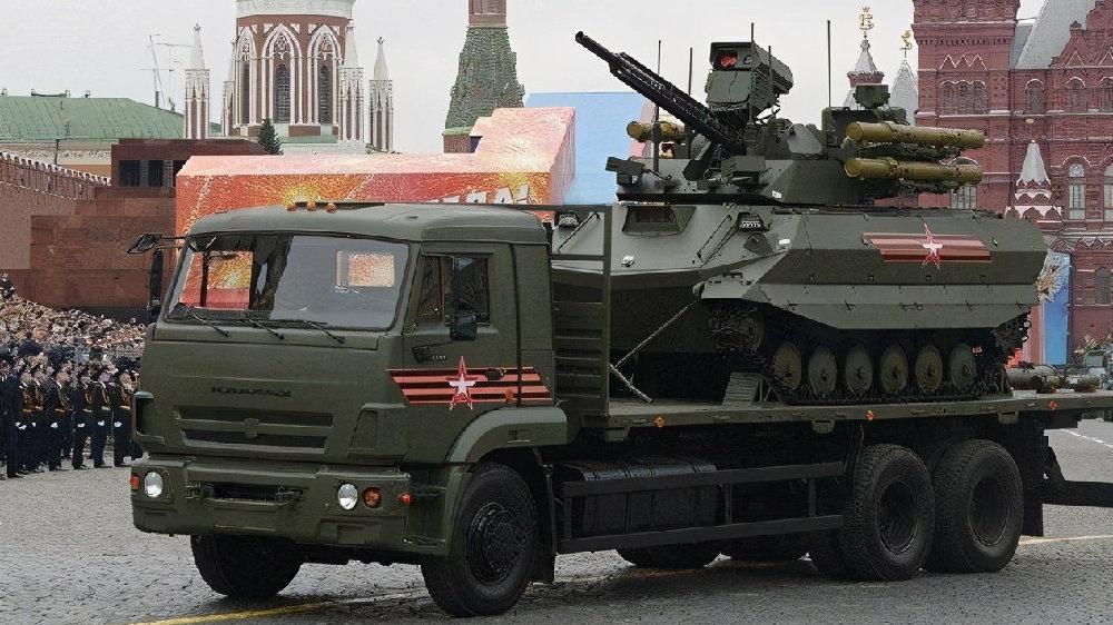 """无人战争形态正在来临:俄军首先列装""""天王星-9""""战斗机器人"""