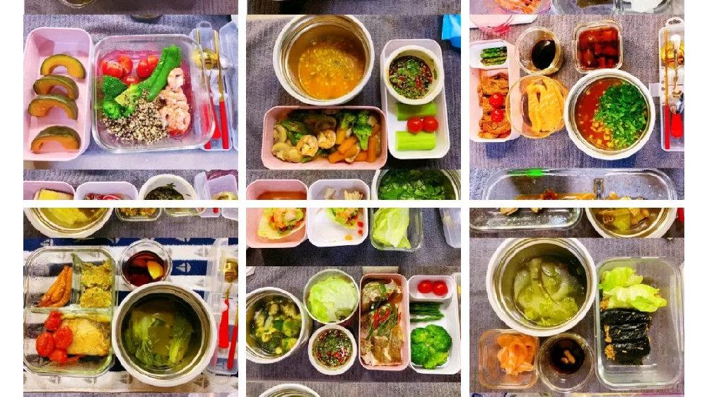 关晓彤晒2个月剧组午餐,50多万人点赞,网友:跪求关妈出菜谱