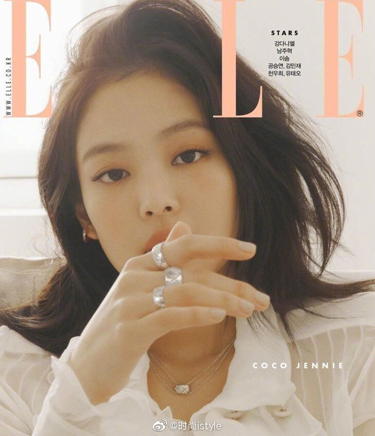 BLACKPINK组合成员Jennie金智妮、Lisa、Rosé朴彩英、jisoo金智秀杂志