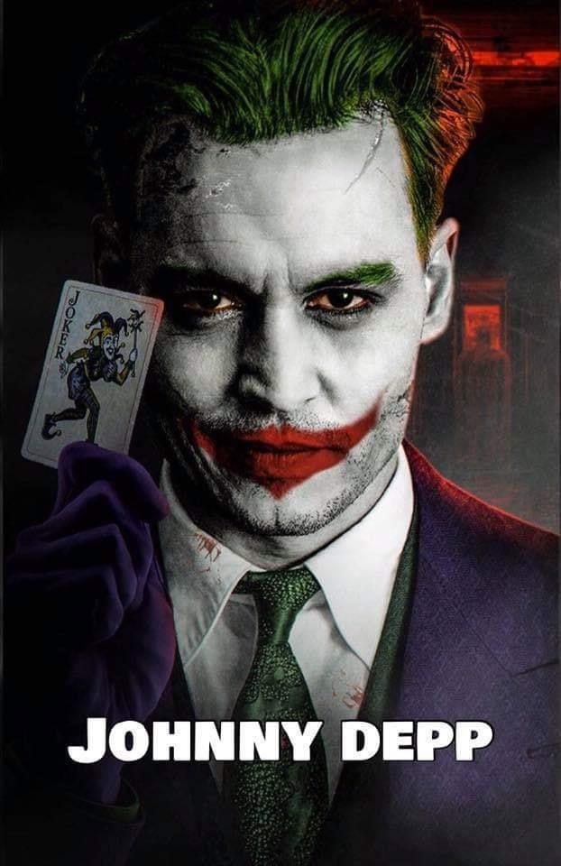 据传约翰尼·德普将扮演《新蝙蝠侠》里的小丑
