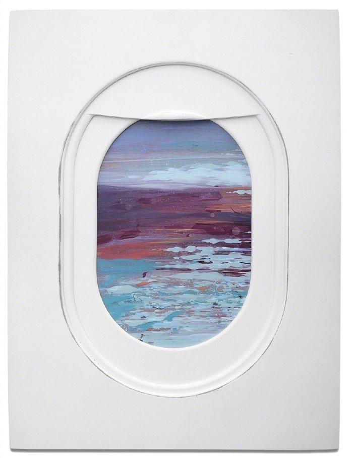 机窗外的风景  Jim Darling