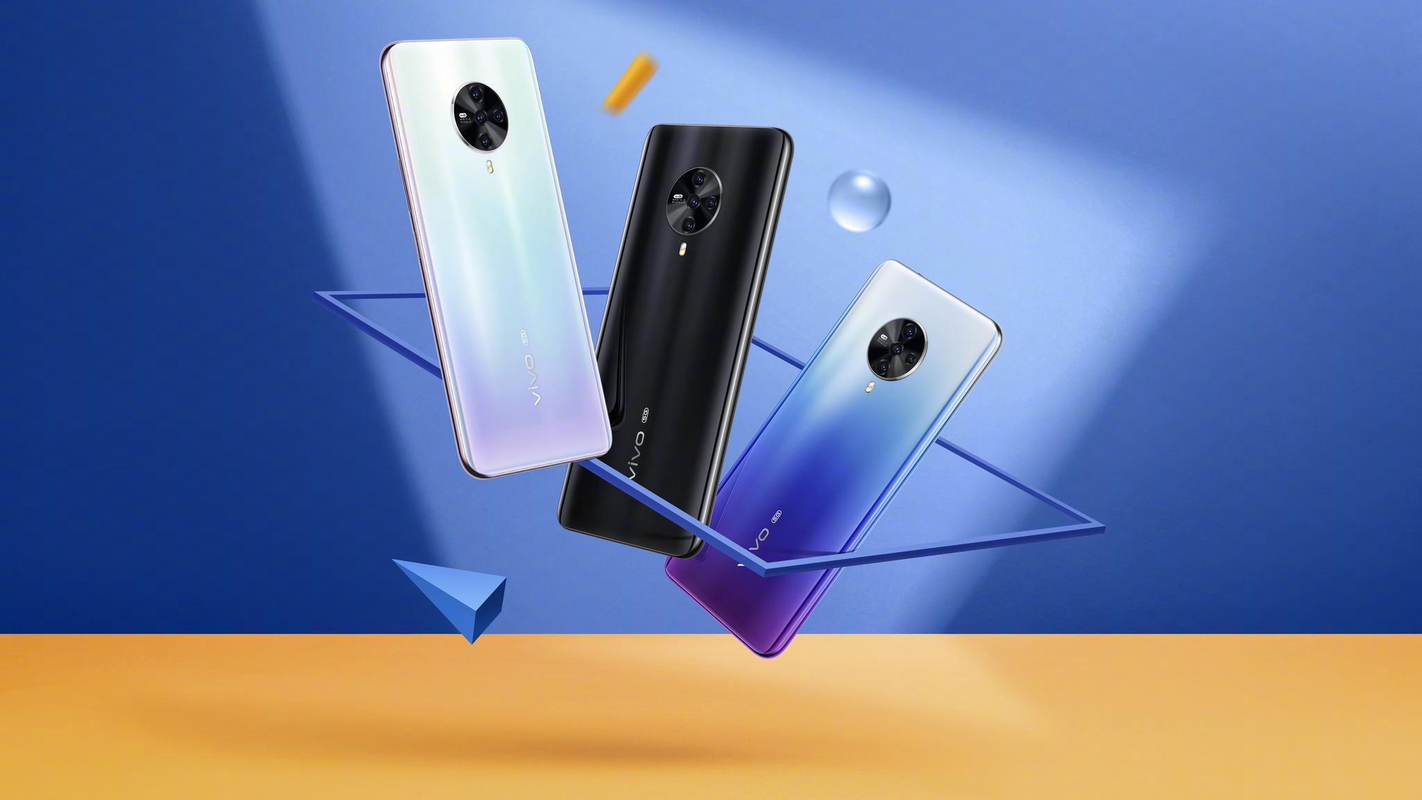刘昊然代言的5G新品vivo S6今日开售,超清夜景自拍,轻盈机身