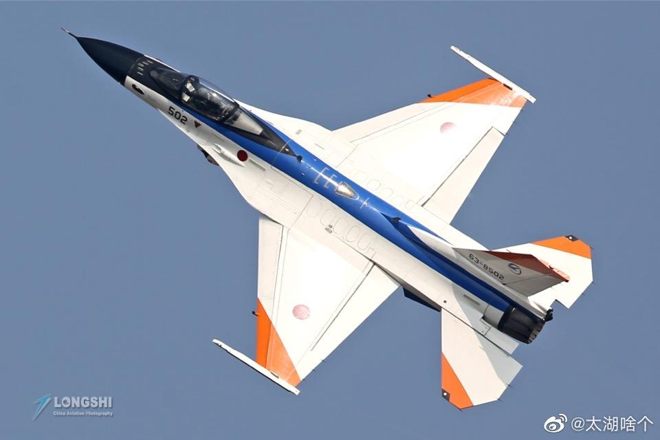 日本航空自卫队F-16WG战斗机