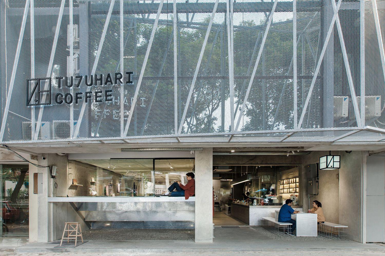位于雅加达南部的 Tujuhari coffee 是一家多功能咖啡店