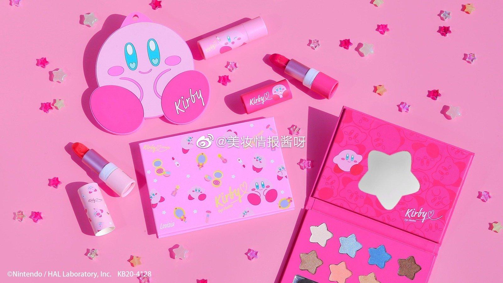 Kirby's Dream Land 系列彩妆3月28日开始发售