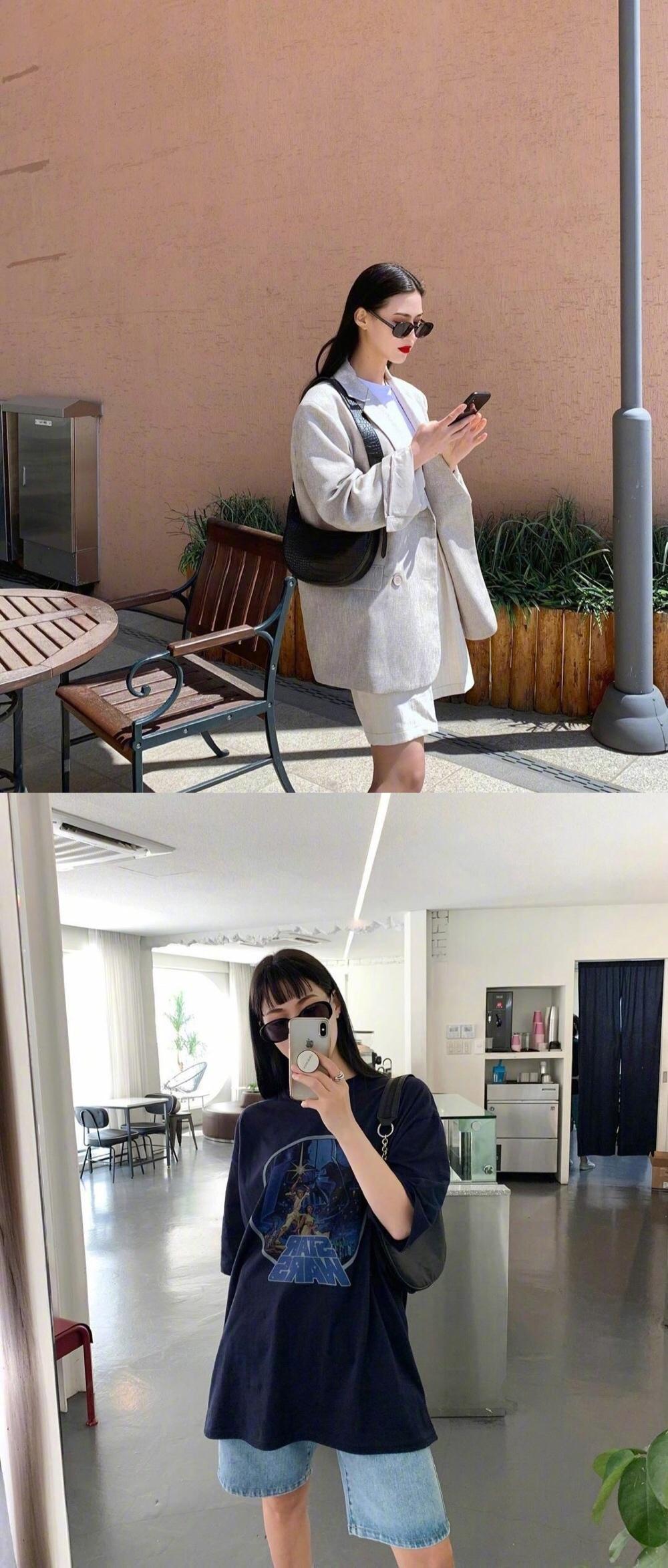 身高170cm的93年韩国模特유나 的ins日常
