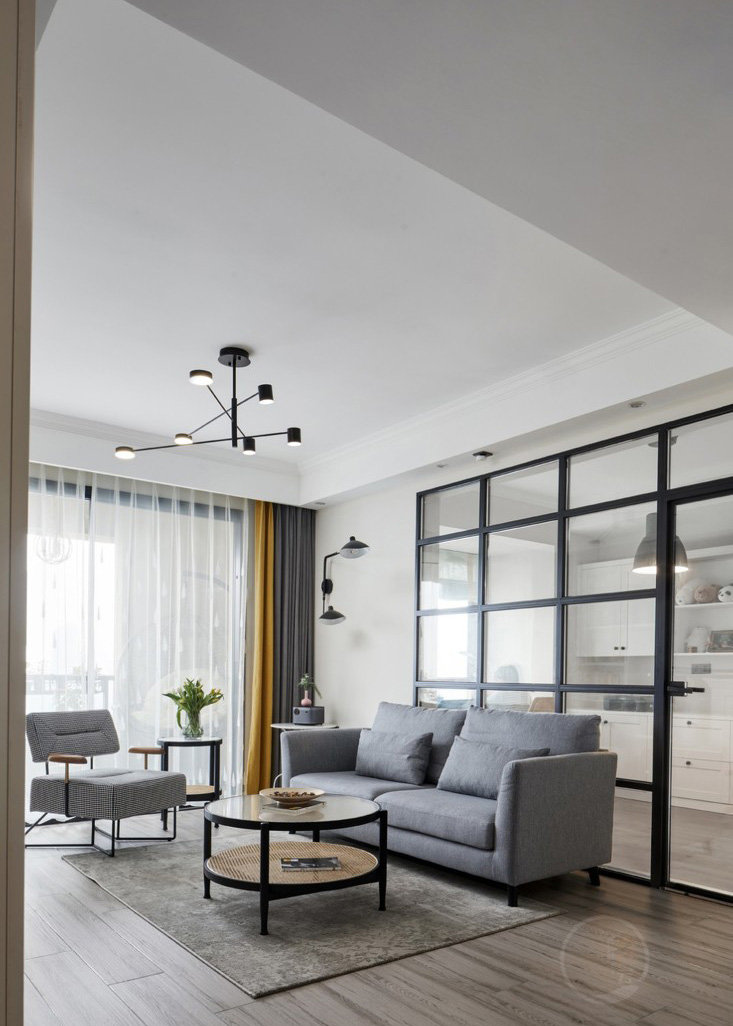 现代北欧风格住宅丨原色云设计