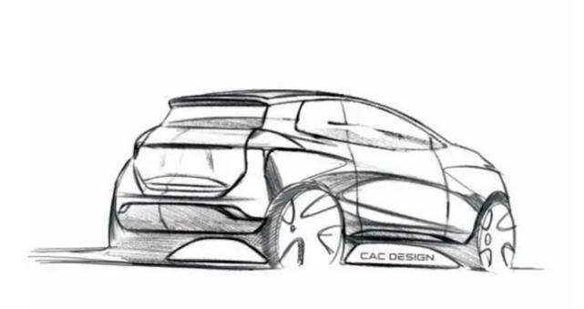 挑战宏光mini ev,奇鲁汽车官图发布,外观设计科技感更足
