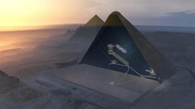 宇宙射线粒子发现金字塔密室