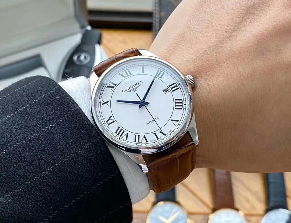 浪琴-LONGINES🎉男士腕表   全自动机械机芯实拍 这款腕表不仅适合