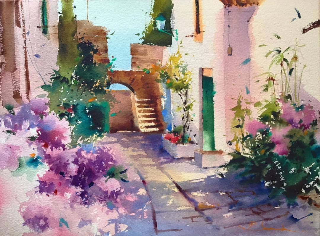 西班牙的街巷,暖心的画面... | Blanca Alvarez
