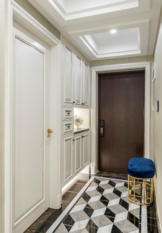 轻奢美式风格三居室装修设计,营造了一种优雅精致的舒适感!