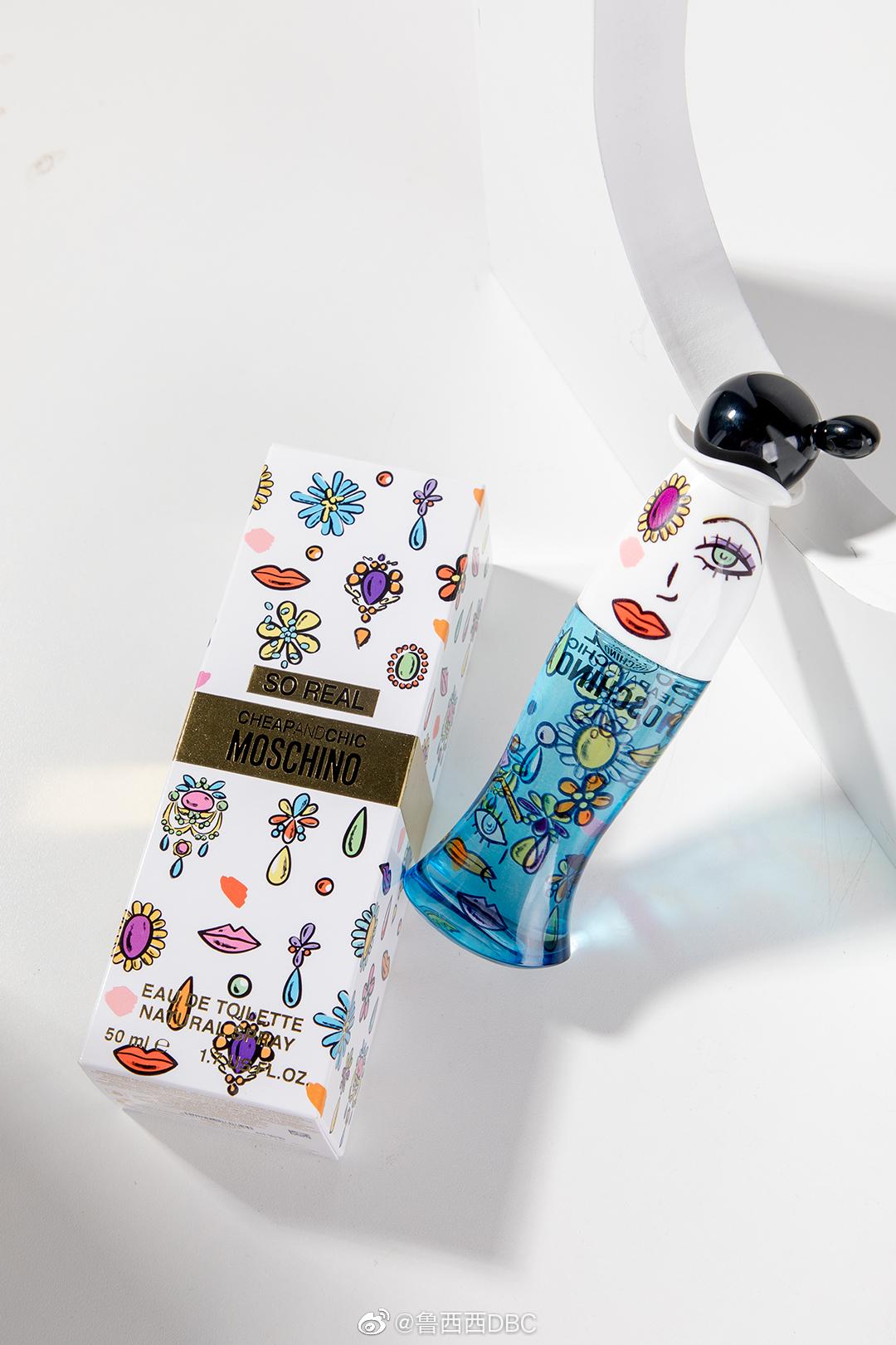 香水推荐 MOSCHINO so real纯真女士淡香水 这瓶香水香味就像包装