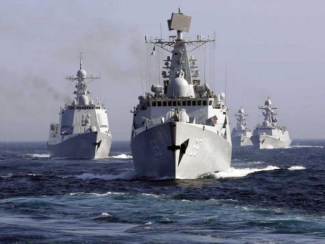 中国海军竟遭美国嫉妒?4年造舰吨位等同日本全部家当