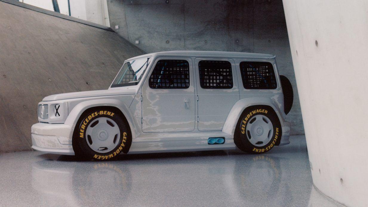 时装设计师Virgil Abloh为梅赛德斯奔驰设计了G系概念车Project Gelän