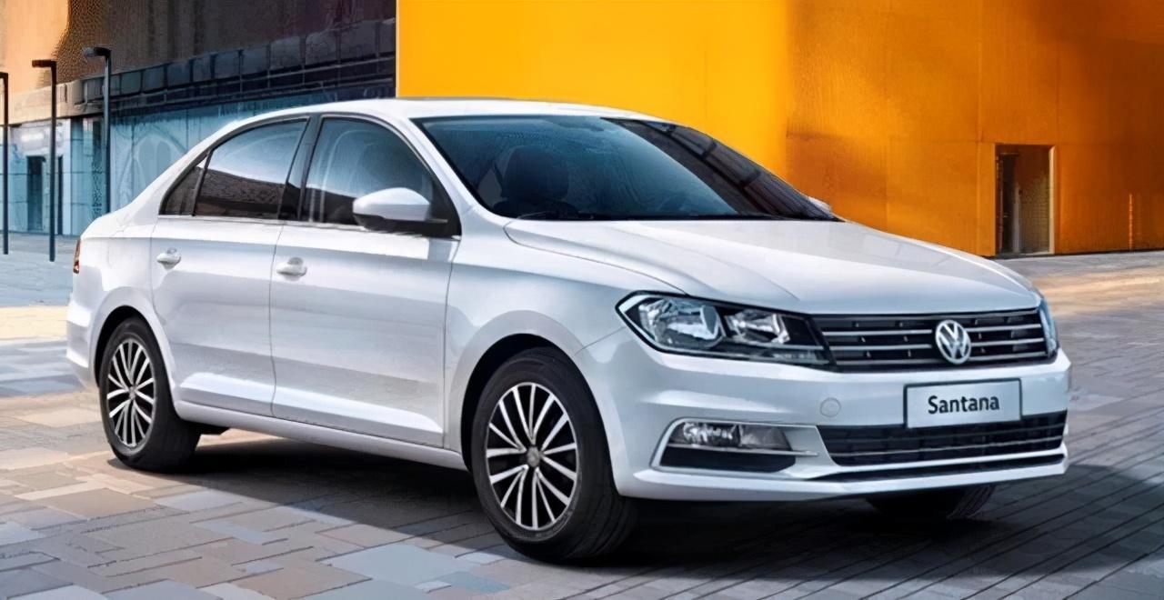 全新2021款桑塔纳亮相,8.69万起售,车长达到4米4,外观挺帅的