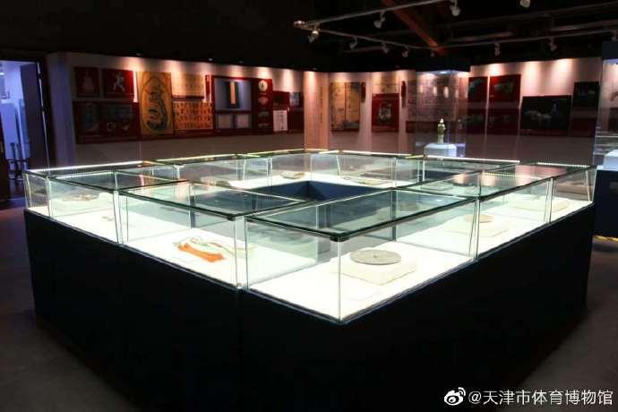 中国古代体育文物展开展