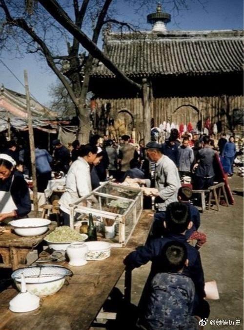 六十年代的老北京街头小吃