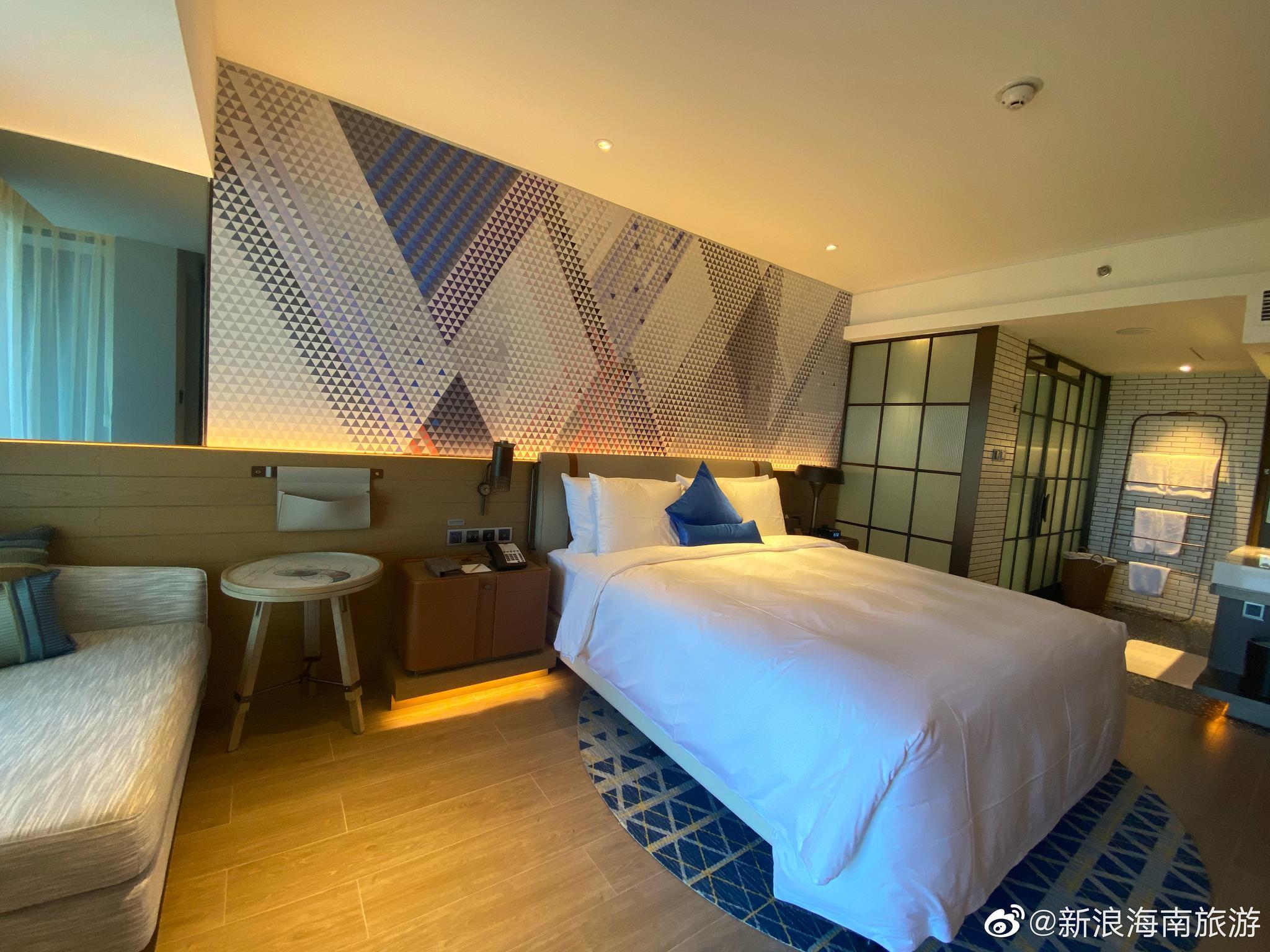 海南富力湾英迪格酒店是一个极具创意设计的酒店